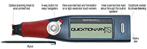 Quicktionary TS English/Hebrew/Russian/Arabic/French in one Pen Scanner