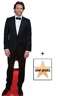 Fan Pack - Bradley Cooper Lifesize Cardboard Cutout / Standee - Includes 8X10 (25X20Cm) Star Photo