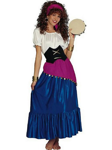 Diy esmeralda costume seasonal craze gypsy adult costume before we begin checking out the do it yourself solutioingenieria Image collections