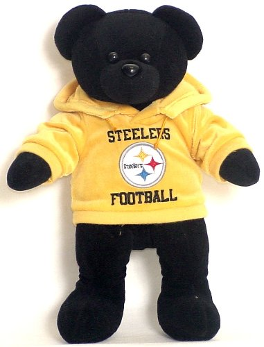 NFL Pittsburgh Steelers Hoodie Bear at SteelerMania