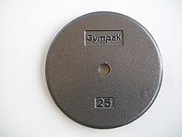 25 lb. Grey Standard Plates (Pair)