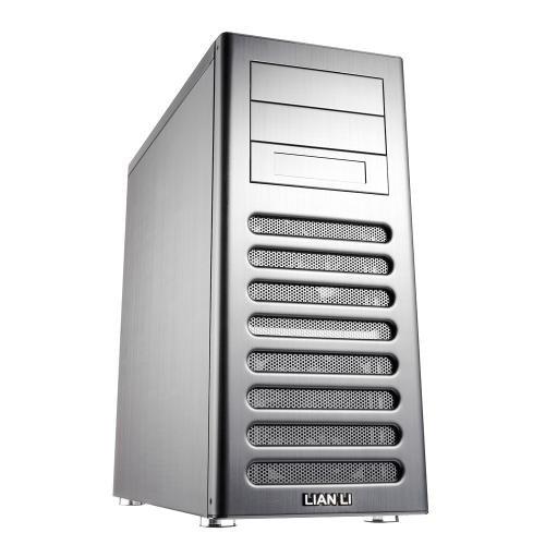 Lian Li PC-8FIA Midi-Tower - silver, ohne Netzteil