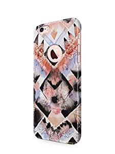 Cover Affair Colourful Patterns Printed Back Cover Case for Apple iPhone 6
