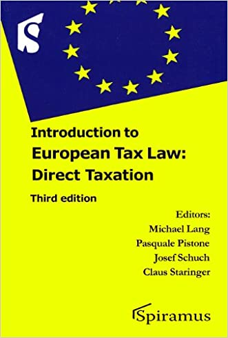 Introduction to European Tax Law: Direct Taxation (Third Edition)