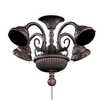 minka aire k9335 l orb 4 light fan light kit. Black Bedroom Furniture Sets. Home Design Ideas