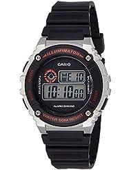 Casio Youth-Digital Digital Black Dial Men's Watch - W-216H-1CVDF