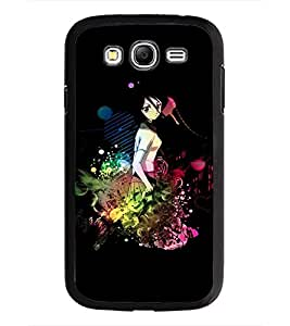 PrintDhaba Sweet Girl D-3367 Back Case Cover for SAMSUNG GALAXY GRAND NEO PLUS (Multi-Coloured)