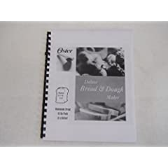 Oster Bread Machine Manual & Recipes for Model  5826