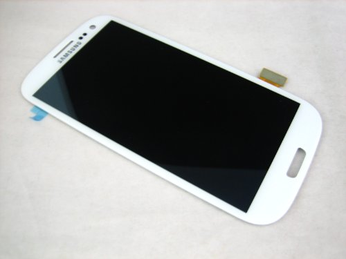 Samsung Galaxy S3 SIII GT-i9300 White Full Front LCD Display + Touch Screen Mobile Phone Repair Part Replacement... Black Friday & Cyber Monday 2014