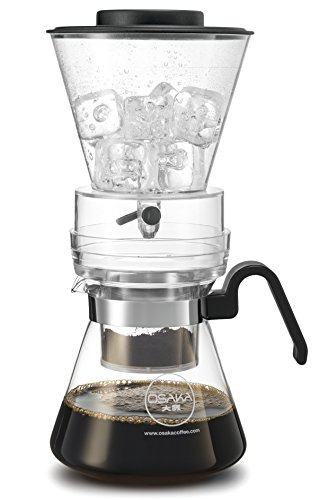 Why Should You Buy Osaka 4 Cup (20oz/600ml) Cold Brew Coffee Dripper, Adjustable Dripper with Glass ...