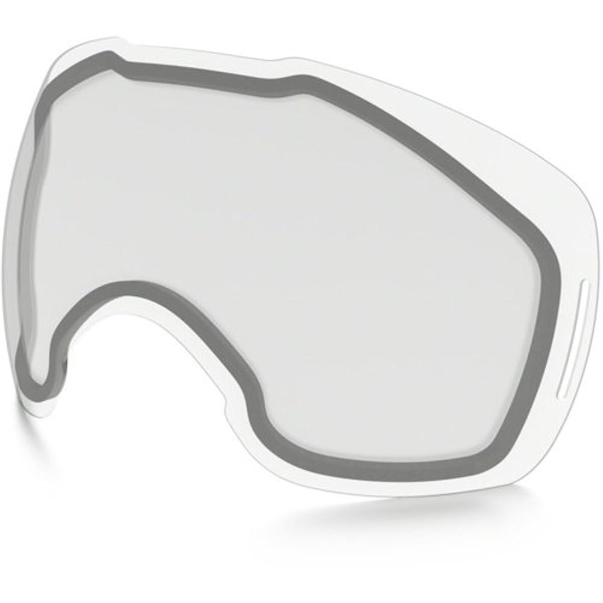 [해외] OAKLEY(오클리) 스노우 고글 교환용 렌즈 CLEAR LENS 클리어 렌즈 흐림~나이트 게임(nighter) 악천후 AIR BRAKE XL 용 에어 브레이크 XL 일본 정규품 AIRBRAKE-XL-LENS-D- (SIZE:FREE|COLOR:CLEAR)