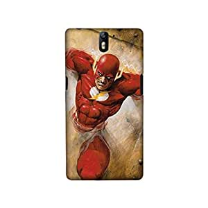 StyleO Oneplus one Designer Printed Case & Covers (Oneplus one Back Cover) - Superhero Flash