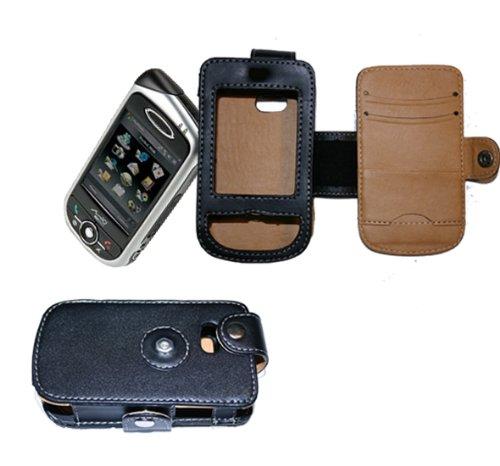 Ledertasche A700. Leather Case für Mitac A 700, A701, A702 mit Gürtelclip