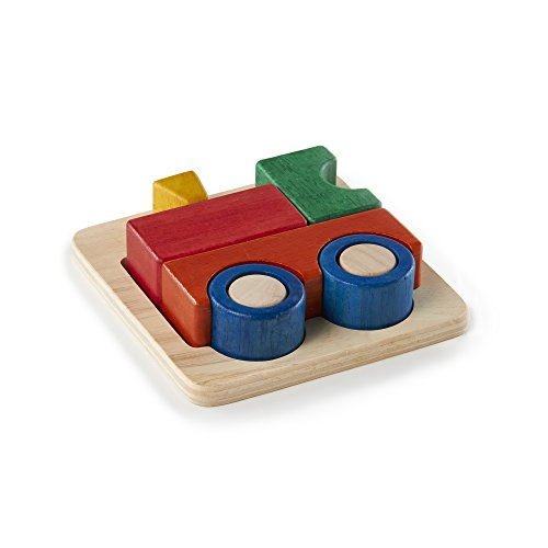 Guidecraft Primary Train Puzzle - 1
