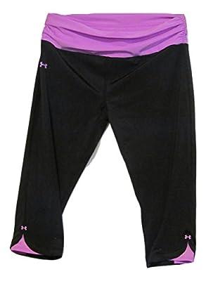 Under Armour Women's Shatter Compression Capri Black/purple