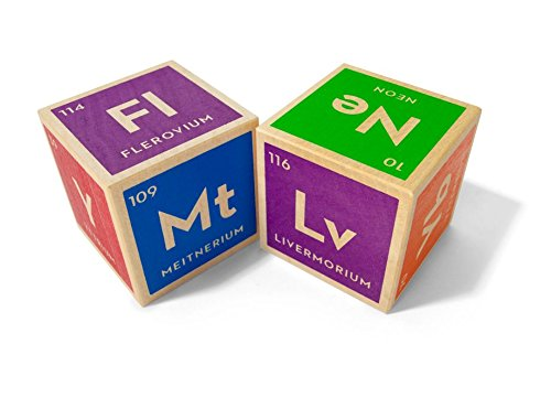 Uncle Goose Periodic Table Blocks – Made in USA