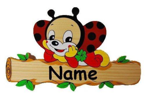 Namensschild holz kinderzimmer for Namensschild kinderzimmer