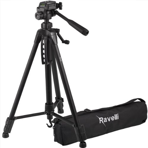 Ravelli APLT4 61-inch Light Weight Aluminum Tripod