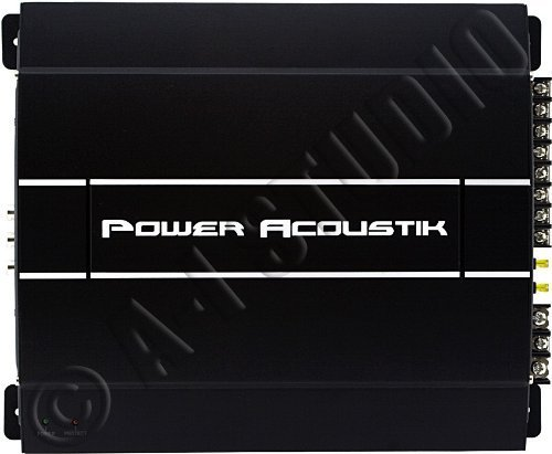 Power Acoustik Rep4-1700 1700 Watt Mosfet 4-Channel Amp With High And Low Level Inputs