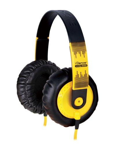 Idance Sedj-600 Dj Headphones, Yellow