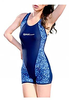 Uget Women's Shaping Body One-Piece Swimsuit