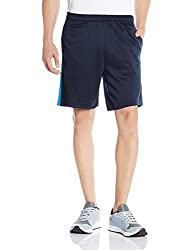 Reebok Men's Synthetic Shorts (4056563867068_AF2354_Small_Blue)