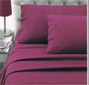Completo Matrimoniale Nazareno Gabrielli Cotone 100% colore GLICINE
