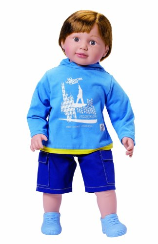 Zapf Creation Sam Toddler Doll 63 cm