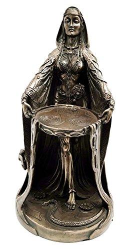 Irish Triple Goddess Danu Figurine Don Cosmic Divine Feminine Source Wisdom Wealth Energy Statue