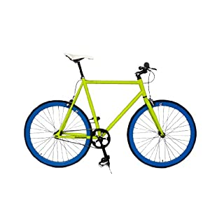 Retrospec Fixie Beta Series Glowstick Fixed Gear Single Speed Urban Road Bike