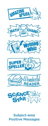 Educational Insights Subject-Area Pos Msgc (Super 6 Stamp) (Dial Rubber Stamp compare prices)