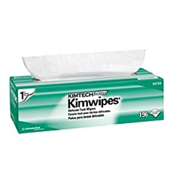 Kimberly-Clark Kimtech Science 34133 Kimwipes Delicate Task Disposable Wiper, 11-51/64