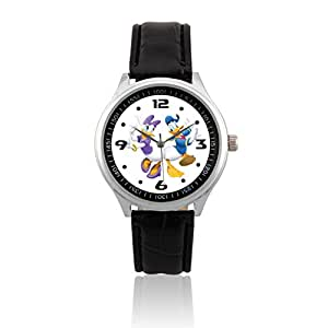 Amazon.com: L481 Disney Daisy Duck & Donald Duck W Fashion Men Wrist