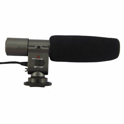 New Sg108 Digital Camera Professional Stereo Microphone Of Dv