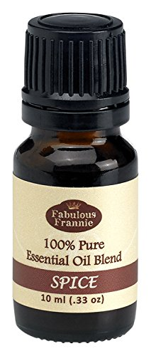 Spice Essential Oil Blend 100% Pure, Undiluted Essential Oil Blend Therapeutic Grade - 10 ml A perfect blend of Clove, Sweet Orange and Cinnamon Essential Oils.