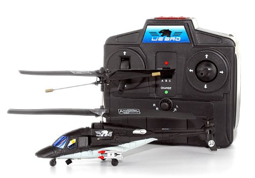 RC Toys Village Newest Model Mini Airwolf 3CH Indoor RC Helicopter