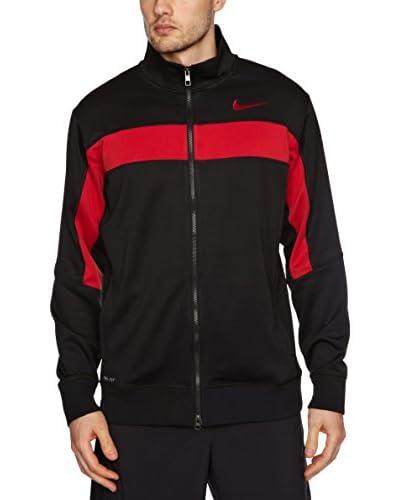 Nike Chaqueta W Nk Dry Sl Negro / Rojo