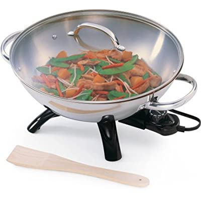 Presto Stainless Steel Electric Wok, 05900