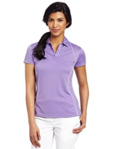 Callaway Ladies Short Sleeve Polo with Piping by Callaway