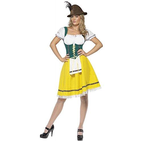 [GSG Beer Maid Costume Adult German Beer Girl Oktoberfest Hansel & Gretel] (Plus Size Ballerina Costumes)