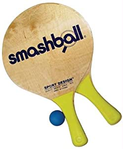 Wet Products Smashball Beach Tennis Set - 2 Paddles, 1 Ball