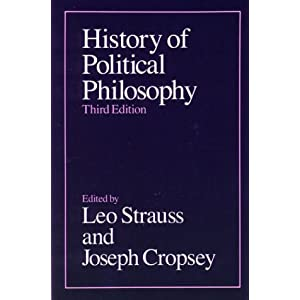 Political Philosophy and History Joseph Cropsey, Leo Strauss