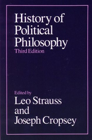 History of Political Philosophy, LEO STRAUSS