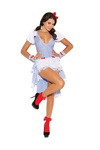Kansas Cutie Adult Halloween Roleplay Costume 3pc Set