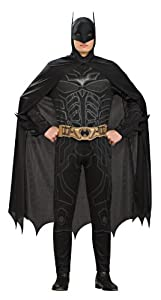Rubie's Costume Co Batman Dark Knight Rises Adult Batman Costume, Black, Medium