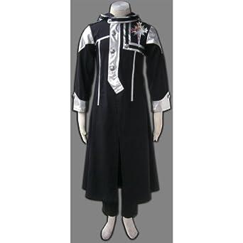 Japanese Anime D.gray Man Cosplay Costume - Allen Walker Exorcist Uniform 1st