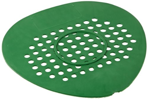 Big D 653 Flat Urinal Screen, Evergreen Fragrance, Green (Pack Of 12)