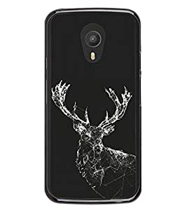 Shinning Reindeer 2D Hard Polycarbonate Designer Back Case Cover for Meizu M2 Note :: Meizu Blue Charm Note2