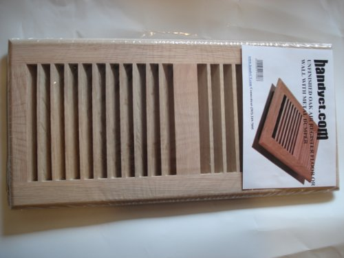 Unfinished Oak Wall Floor Air Return Register Vent Cover
