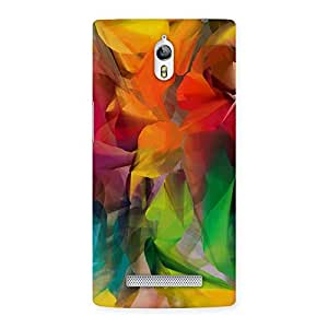 Ajay Enterprises Paint Colors World Back Case Cover for Oppo Find 7